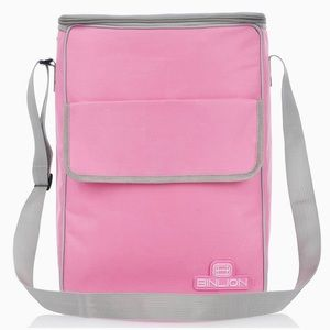 New BINLION Lunch Cooler Bag Pink